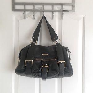 Authentic Leather Dark Gray Michael Kors Purse